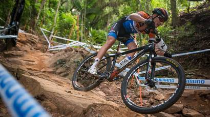 The 2016 UCI MTB XCO World cup started in Cairns